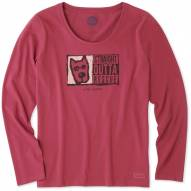 Life is Good Straight Outta Rescue Crusher Women's Long Sleeve Shirt