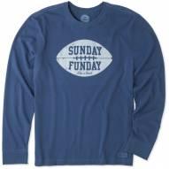 Life is Good Sunday Funday Crusher Men's Long Sleeve Shirt