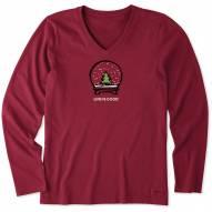 Life is Good Women's Evergreen Snow Globe Long Sleeve Shirt