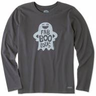 Life is Good Women's Fab'boo'lous Crusher Long Sleeve Shirt