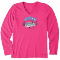 Life is Good Women's Five Star Accommodation Long Sleeve Crusher Shirt