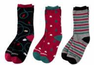 Life is Good Women's Holiday Crew Socks