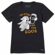 Life is Good Women's I'm Here For The Boos Crusher T-Shirt