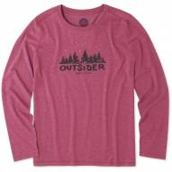 Life is Good Women's Outsider Cool Long Sleeve Shirt