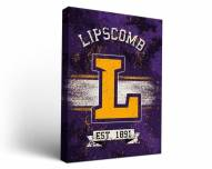 Lipscomb Bisons Banner Canvas Wall Art