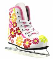 Little Rocket Girls' Flower Power Double Runner Ice Skates by American