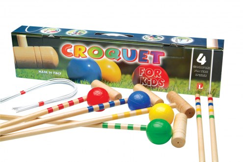 Londero Children's 4-Player Croquet Set