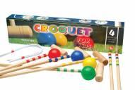 Londero Children's 4-Player Croquet Set