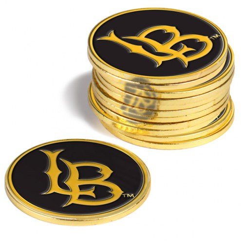 Long Beach State 49ers 12-Pack Golf Ball Markers