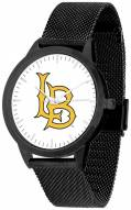 Long Beach State 49ers Black Mesh Statement Watch