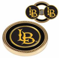 Long Beach State 49ers Challenge Coin with 2 Ball Markers