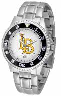 Long Beach State 49ers Competitor Steel Men's Watch