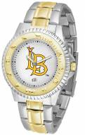 Long Beach State 49ers Competitor Two-Tone Men's Watch