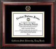 Long Beach State 49ers Gold Embossed Diploma Frame