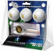Long Beach State 49ers Golf Ball Gift Pack with Kool Tool