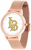 Long Beach State 49ers Rose Mesh Statement Watch