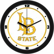 Long Beach State 49ers Traditional Wall Clock