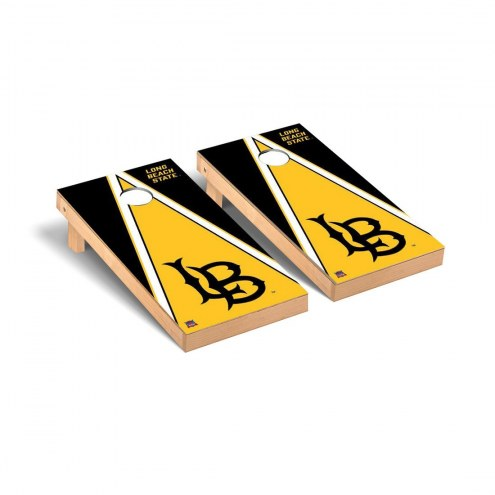 Long Beach State 49ers Triangle Cornhole Game Set