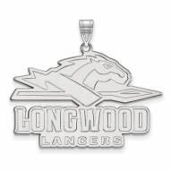Longwood Lancers Sterling Silver Extra Large Pendant