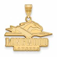 Longwood Lancers Sterling Silver Gold Plated Medium Pendant
