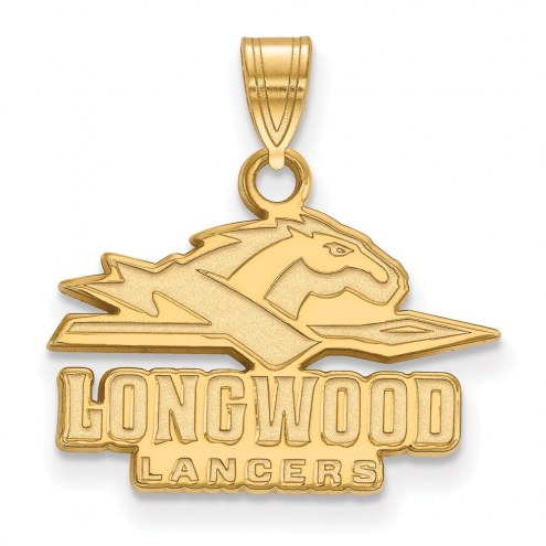 Longwood Lancers Sterling Silver Gold Plated Small Pendant