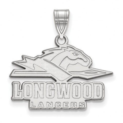 Longwood Lancers Sterling Silver Medium Pendant