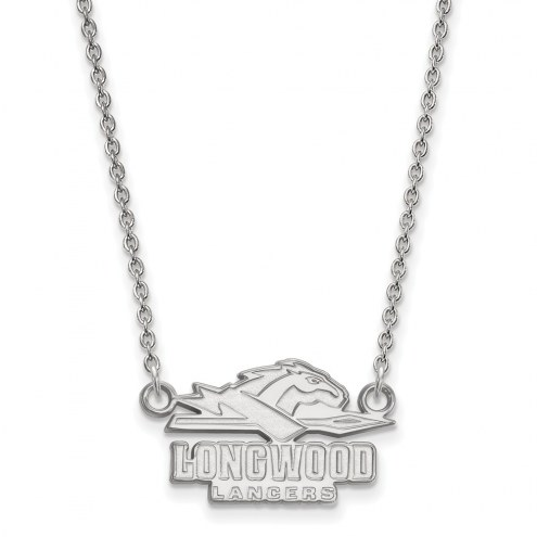 Longwood Lancers Sterling Silver Small Pendant Necklace
