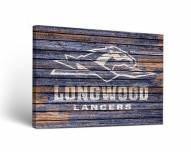 Longwood Lancers Weathered Canvas Wall Art