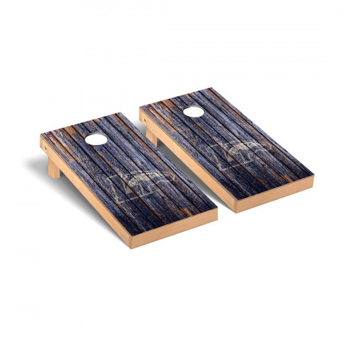 Longwood Lancers Weathered Cornhole Game Set