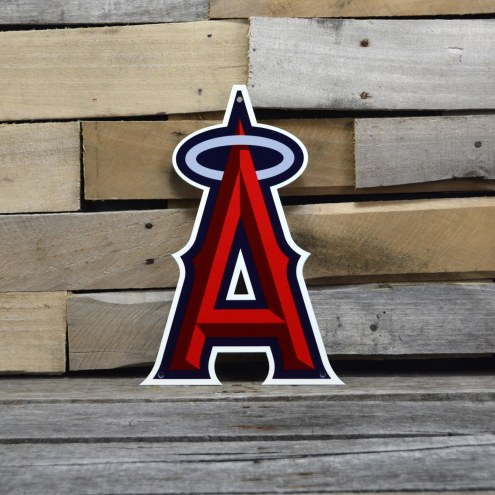 "Los Angeles Angels 12"" Steel Logo Sign"