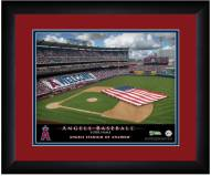Los Angeles Angels 13 x 16 Personalized Framed Stadium Print