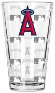 Los Angeles Angels 16 oz. Sandblasted Pint Glass