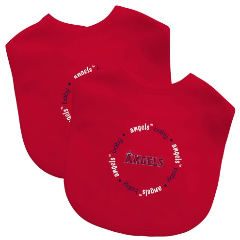 Los Angeles Angels 2-Pack Baby Bibs