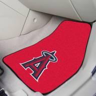 Los Angeles Angels 2-Piece Carpet Car Mats