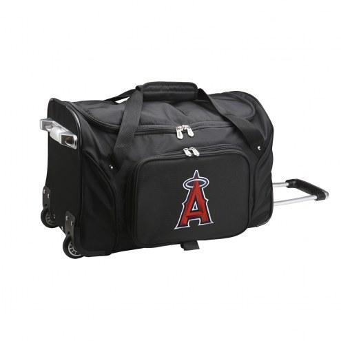 "Los Angeles Angels 22"" Rolling Duffle Bag"