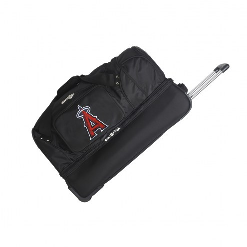"Los Angeles Angels 27"" Drop Bottom Wheeled Duffle Bag"