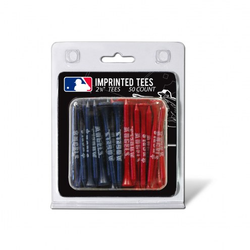 Los Angeles Angels 50 Golf Tee Pack