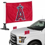 Los Angeles Angels Ambassador Hood & Trunk Car Flag