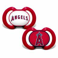 Los Angeles Angels Baby Pacifier 2-Pack
