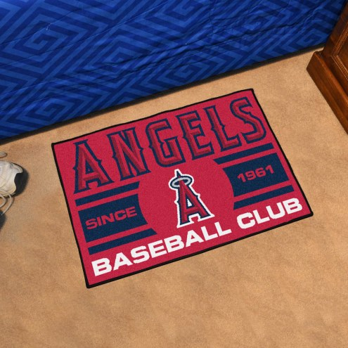 Los Angeles Angels Baseball Club Starter Rug