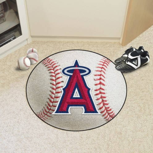 Los Angeles Angels Baseball Rug