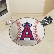 Los Angeles Angels Baseball Rug