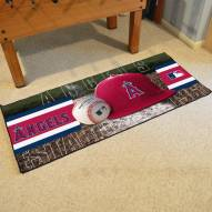 Los Angeles Angels Baseball Runner Rug