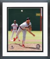 Los Angeles Angels Bert Blyleven Action Framed Photo