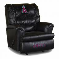 Los Angeles Angels Big Daddy Leather Recliner