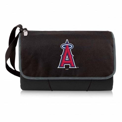 Los Angeles Angels Black Blanket Tote