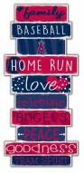 Los Angeles Angels Celebrations Stack Sign