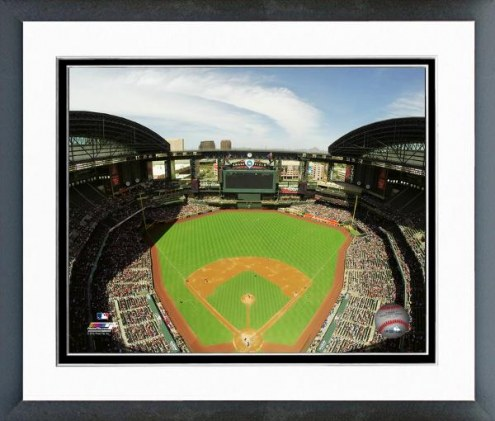 Los Angeles Angels Chase Field Framed Photo