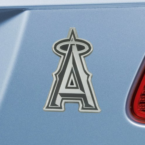 Los Angeles Angels Chrome Metal Car Emblem