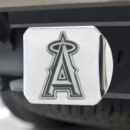 Los Angeles Angels Chrome Metal Hitch Cover